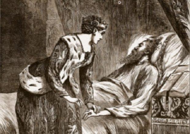 Алиса Перрерс сидит рядом с умирающим королём