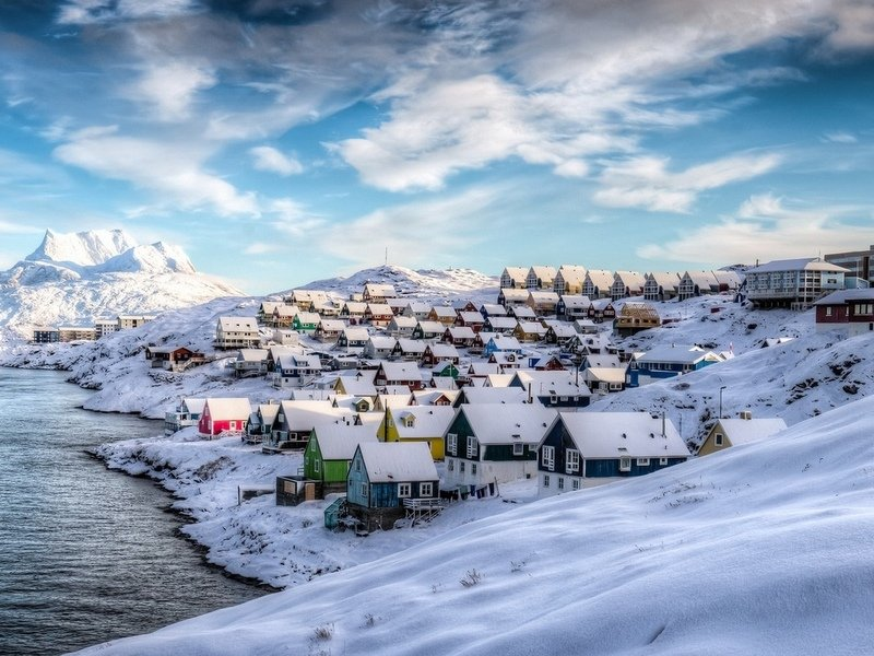 Населённый пункт в Гренландии