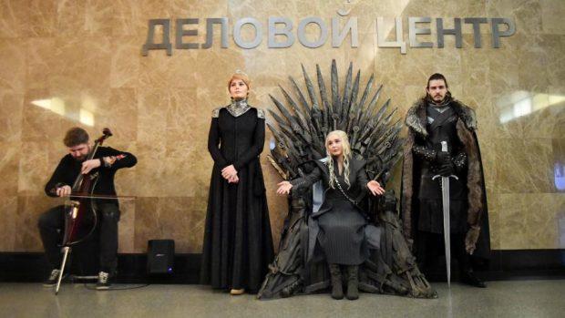 трон игры престолов в москве