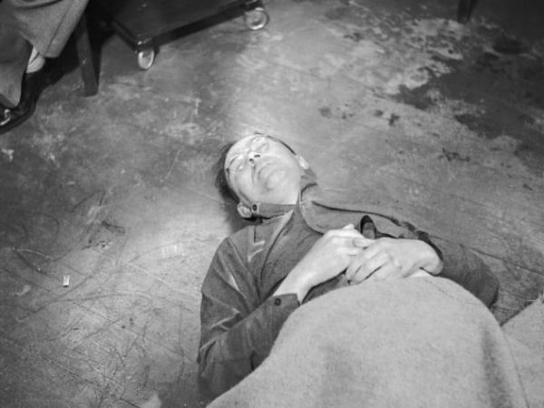 Мёртвый Генрих Гиммлер