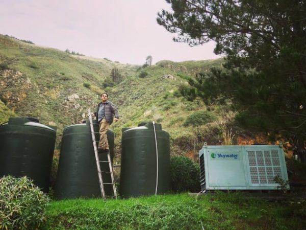 Установки для синтеза воды Skywater