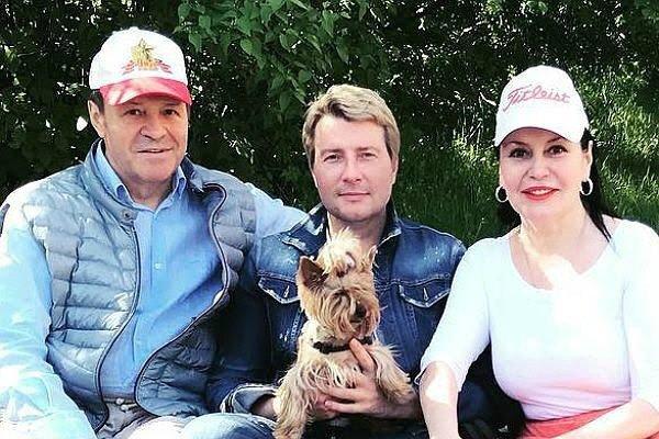 Семья Николая Баскова