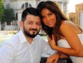 галустян с женой