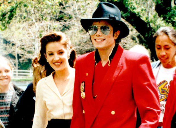 Майкл Джексон с бывшей женой