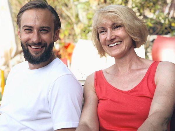 Шепелев с мамой