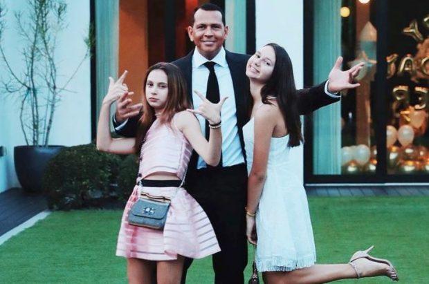 Жених Дженнифер Лопес с детьми