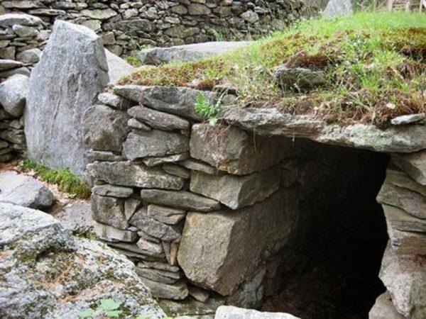 Каменное сооружение в США