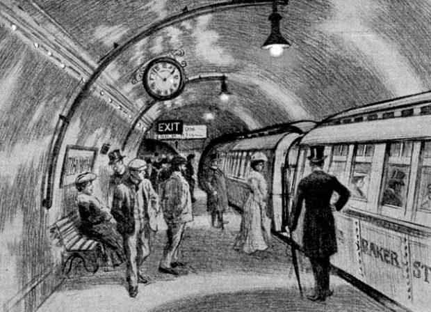Лондонское метро начала ХХ века