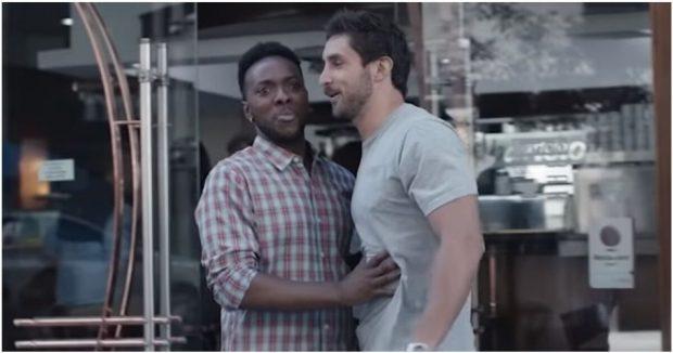 Кадр из рекламы Gillette