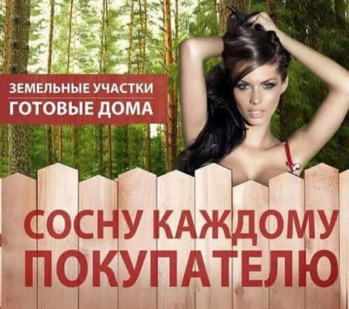 Реклама коттеджного посёлка «Чеховские дачи»