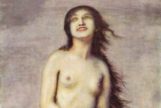 Торс обнажённой женщины