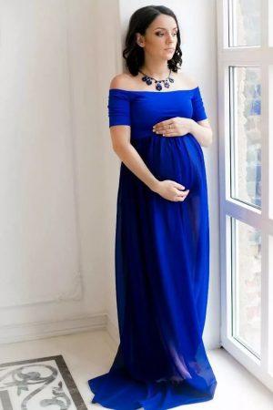 Вечерний гардероб беременной №2