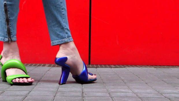 интересная дизайнерская обувь