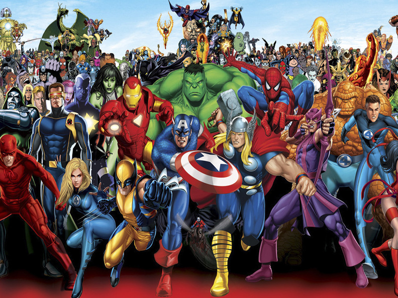 Супер герои Марвел