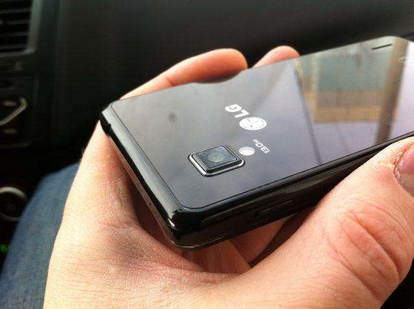 задняя крышка телефона LG