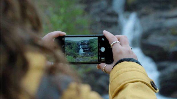 Фотография водопада
