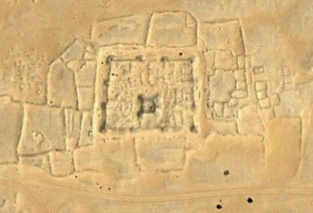 Схематичное изображение на камне