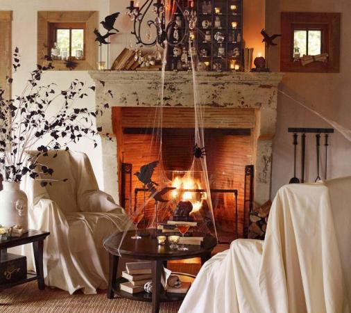 Декор мебели на Хэллоуин