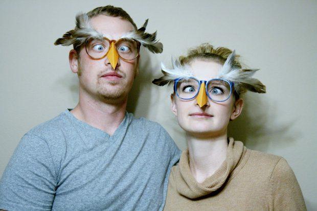 хэлоуиновский костюм маски сов