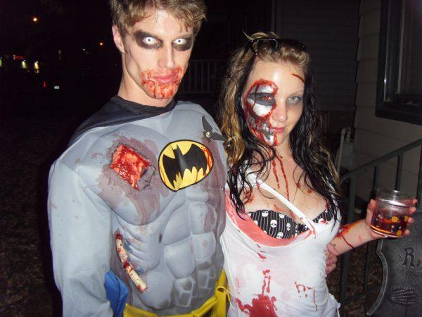 хэлоуиновский костюм зомби-герои