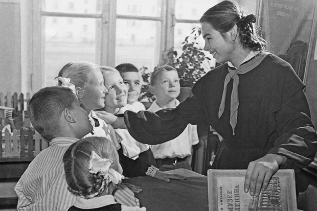 как учились в советской школе