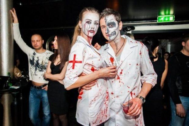 костюмы медицинских работников в хэллоуин
