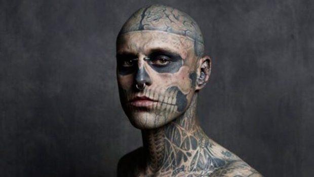 Тату-модель Zombie Boy
