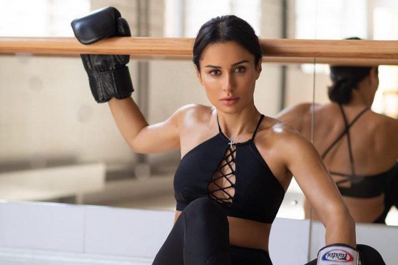 Тина Канделаки – бокс и фитнес