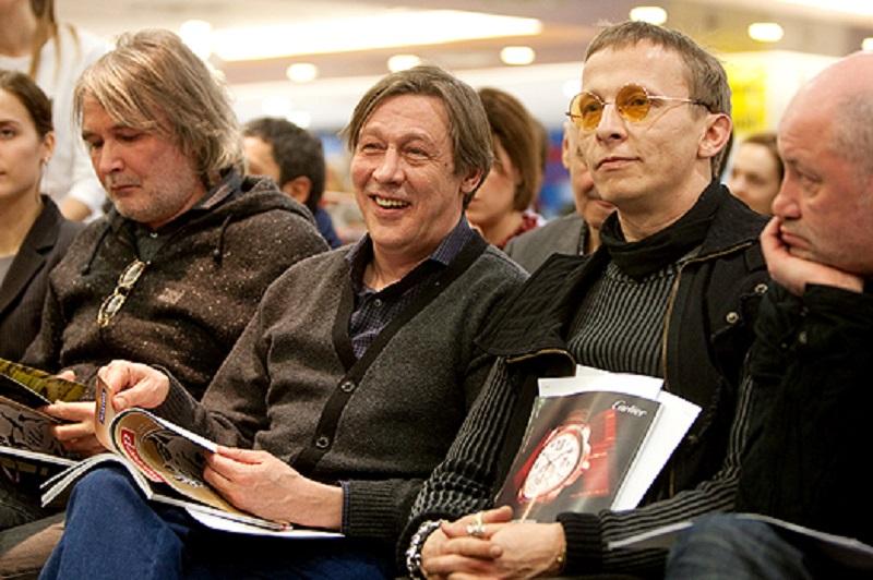Михаил Ефремов и Иван Охлобыстин