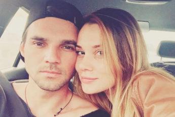 Артем Алексеев с женой