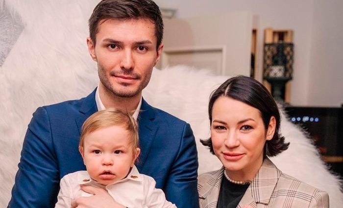 Ида Галич с семьей