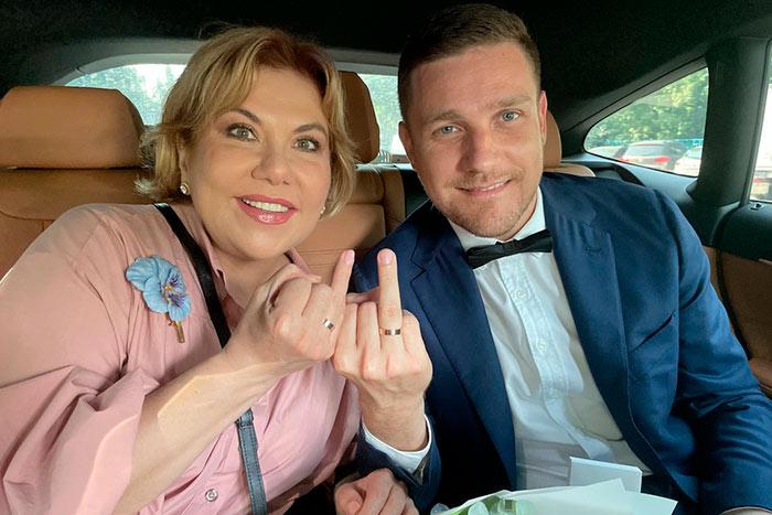 Марина Федункив вышла замуж