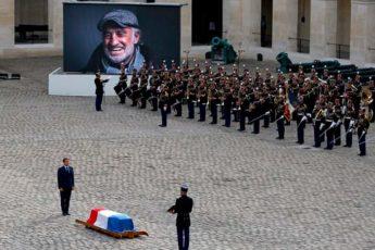 Похороны Жан Поля Бельмондо