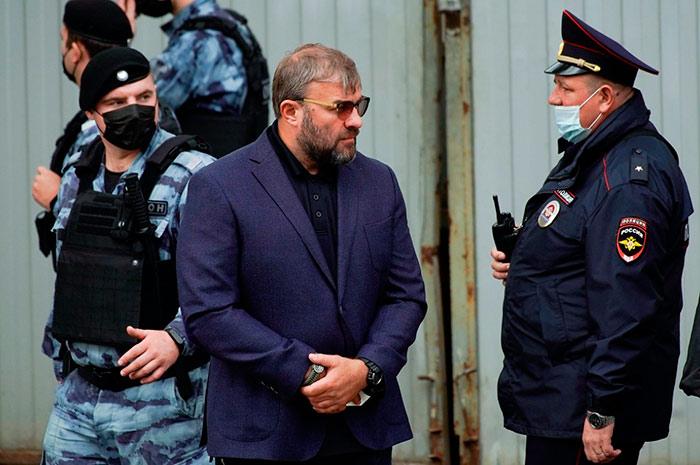Михаил Пореченков устроил драку